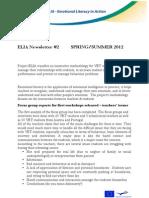 Elia Newsletter Nr2