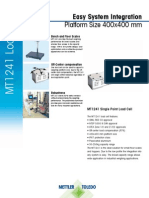 DataSheet MT1241 Load Cells en 20111101
