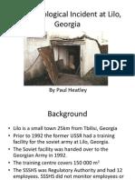 Presentation - The Radiological Incident at Lilo, Georgia