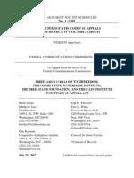 Verizon v. FCC, Cato Legal Briefs