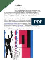 Le Corbusier - Modulor - La Proporcion Aurea