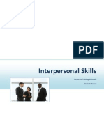 Interpersonal Skills Student Manual Sample