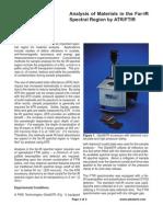 AnalysisMaterialsFar-IRSpectralRegionATR-FTIR