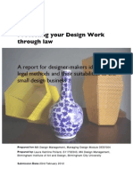 Protecting your design work through law