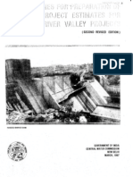 Guidelines for Preparation Project Estimatesfor River Valley Projects-CWC