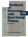 SP40 Handbook on structures with steel portal frames