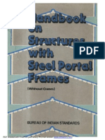 SP40 Handbook on structures with steel portal frames