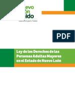 Ley de los derechos de las personas Adultas Mayores en el Estado de Nuevo León