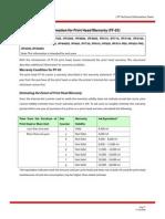PF-03 Print Head Warranty Coverage Guide