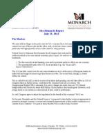 The Monarch Report 7-23-2012