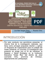 asepsia y salud ecologica