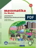 Belajar Matematika Itu Mudah  [untuk SD/MI Kelas 6]