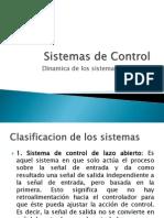Dinamica de Los Sistemas de Control