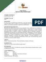 Ficha Tecnica - Maca Gelatinizada b100,f150,Mcpy,Fcap90,Scap