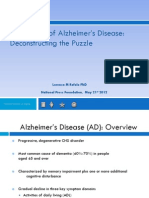 The Causes of Alzheimer's Disease