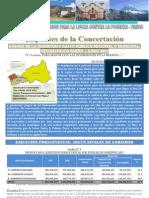 BALANCE DE MEDIO AÑO 2012 SOBRE LA EJECUCION PRESUPUESTAL EN LA REGION PASCO