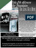 Tisha Bav Video Long Way Home 5772