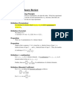 Probability Theory Review