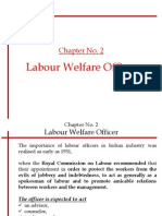 Chpter 2 - Labour Welfare Officer