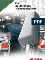 Catalog 27-512 Base Station Antennas