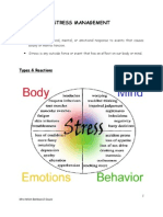 Stress Management Handout