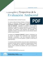 3.Conceptos y Perspectivas de la Evaluación Ambiental