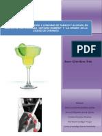 Rel Entre Ocupacion y Consumo de Alcohol y Tabaco Madres de Durango