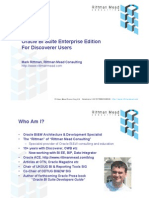Oracle BI Suite Enterprise Edition for Discoverer Users