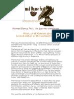 Nomad Dance Fest-Press Release ENG