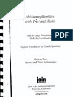 Abhisamayalamkara With Vrtti and Aloka (Vol.2)