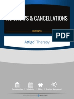 White Paper - Put an End to No-Shows and Cancellations