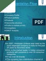 46259548 SWOT Analysis of Hindustan Unilever Ltd