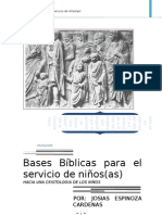 Bases Bíblicas para el servicio de niños new 2002