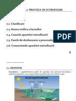 Procesul de Eutrofizare