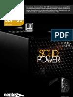 Brochure Sentey PSU Solid Power 80 Plus
