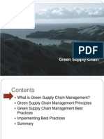 Green Supply Chain