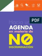 Hacia una Agenda en materia de No Discriminación
