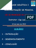 administração de pessoal - LPO