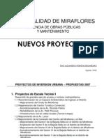 Municipalidad Miraflores 2006 GERENCIA DE OBRAS PÚBLICAS