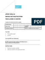 ASE10206 JETSET6 Practice Paper