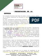 Nutreyzer Presentacion General