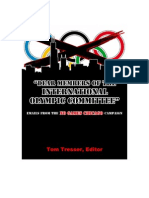 """""""Dear Members of the International Olympic Committee"""" Emails from the No Games Chicago Campaign"""