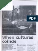 When Culture Collide