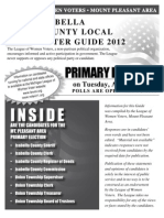 Isabella Primary Voters Guide 2012