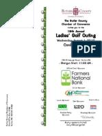 2012 Ladies Golf Brochure