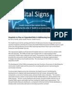 Vital Signs May 2012