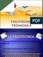 Psicotecnica pedagogica