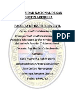 Informe Final Analisis Estructural II