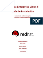 Red Hat Enterprise Linux 6 Installation Guide Es ES