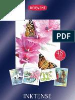 Derwent Inktense Pencils A4 Brochure - 2012